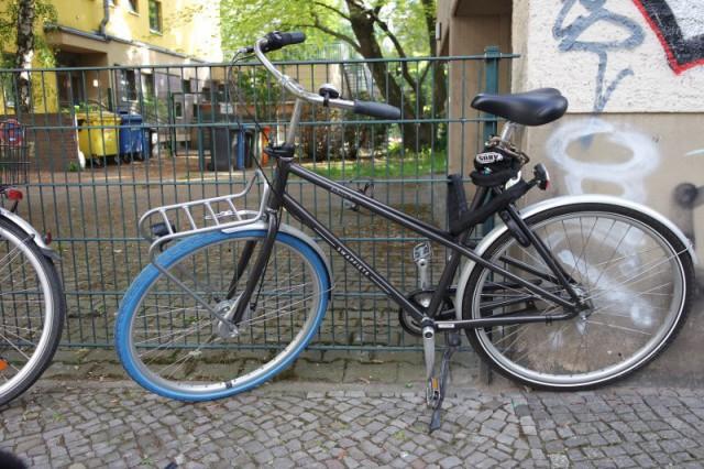 Swapfiets in Berlin - schwarz