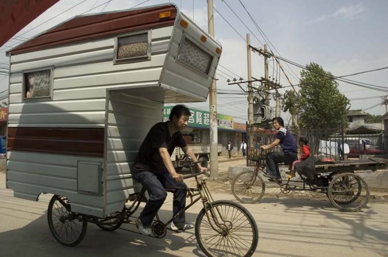 Camping-Fahrrad von Kevin Cyr