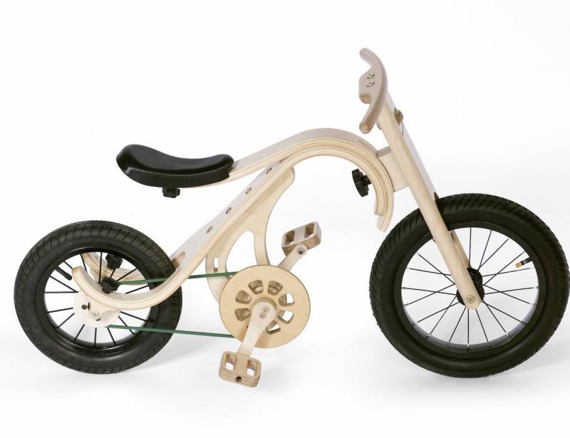 leg&go Laufrad mittel mit Pedalen als Kinderfahrrad