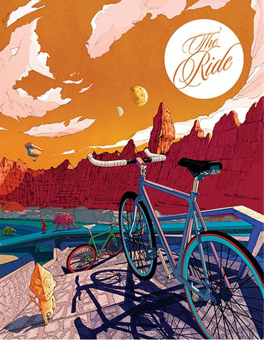 The Ride Magazine 2012 Cover